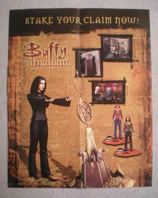 BUFFY THE VAMPIRE Promo Poster, 16x20, 2004, Unused, more Promos in store