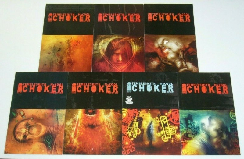Choker #1-6 VF/NM complete series + variant - ben templesmith - image comics set