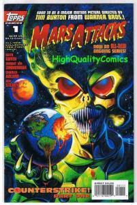 MARS ATTACKS #1, VF/NM, UFO, Aliens, Horror, Ken Steacy, 1995, more MA in store