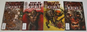 Dead Of Night: Werewolf By Night #1-4 VF/NM complete series - marvel max 2 3 set