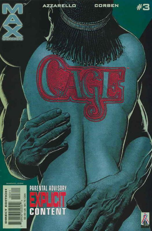 Cage (2nd series) #3 VF/NM; Marvel | save on shipping - details inside