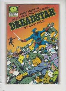 DREADSTAR #1 1982 DC / NM / UNREAD