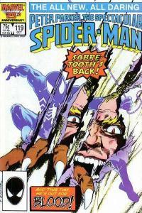 Spectacular Spider-Man (1976 series) #119, VF+ (Stock photo)