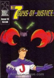 Seven Guys of Justice, The #13 VF/NM; False Idol | save on shipping - details in