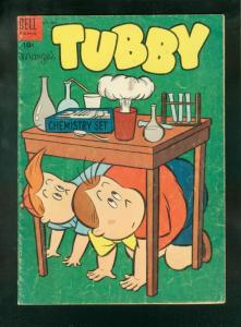MARGE'S TUBBY #10 1954-DELL COMICS-CHEMISTRY SET G