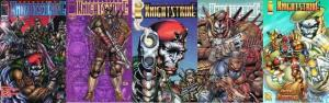 OPERATION KNIGHTSTRIKE (1995 IM) 1A-1B,2A-2B,3 COMPLETE COMICS BOOK