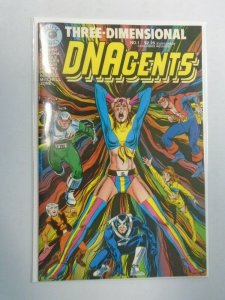 DNAgents 3D with Glasses #1 8.0 VF (1986)