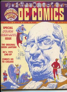 Amazing World of DC Comics #3 1974-Special Julius Schwartz issue-Otto Binder-...