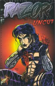 Razor: Uncut #15, NM- (Stock photo)