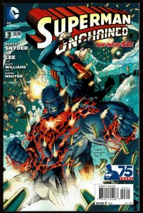 Superman Unchained #3  (Oct 2013, DC)  9.0 VF/NM