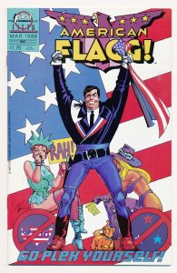 American Flagg (1983 First Publishing) #50 VF Last issue of the series