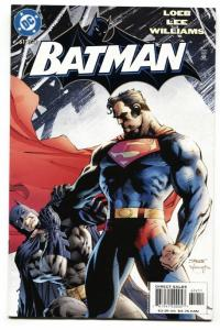 BATMAN #612 JIM LEE-BATMAN VS. SUPERMAN ISSUE-DAWN OF JUSTICE-2003 nm-