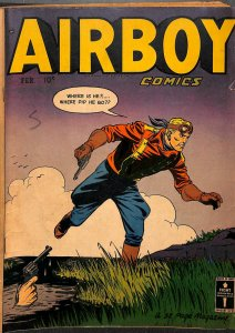 Airboy Comics #72 VG+ 4.5 Last issue!