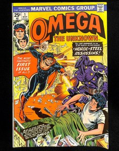 Omega the Unknown #1