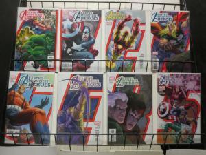 AVENGERS EARTHS MIGHTIEST HEROES (2005) 1-8 COMICS BOOK