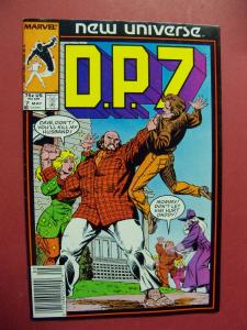 D.P.7 NEW UNIVERSE  #7  (9.0 to 9.4 or better)  MARVEL COMICS