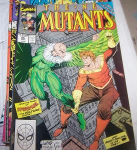 NEW MUTANTS  # 86  marvel  X MEN  liefeld mcfarlane vulture 1st cable cameo