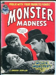 Monster Madness #2 1973- Marvel Horror parody magazine- Frankenstein VG