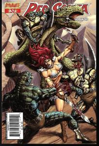 Red Sonja #37 (Dynamite Entertainment)- Pablo Marcos Cover