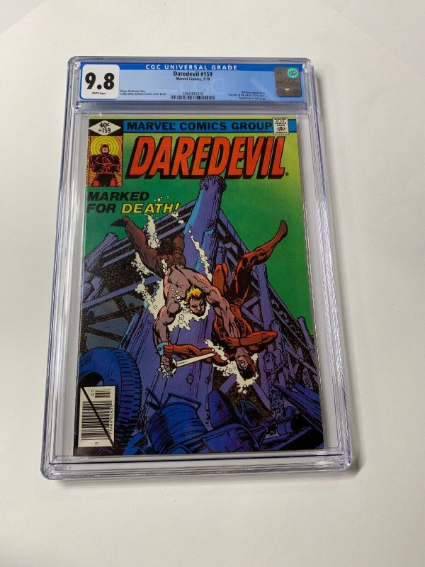Daredevil #159 CGC graded 9.8
