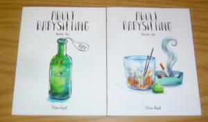 Adult Babysitting #1-2 VF/NM complete series - tales from real-life bartender