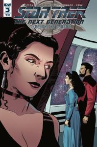 Star Trek The Next Generation Through The Mirror #3 Cvr B (IDW, 2018) NM