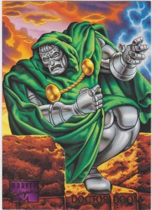 1995 Marvel Masterpieces #30 Dr Doom