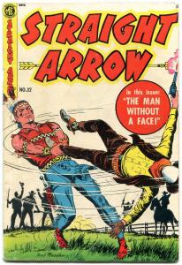 Straight Arrow #32 1953- Golden Age Western- Fred Meagher VG/F