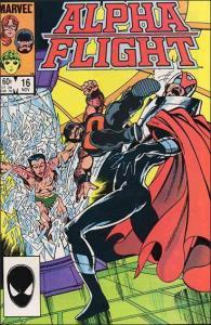 Marvel ALPHA FLIGHT (1983 Series) #16 VF