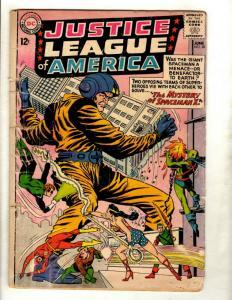 Justice League Of America # 20 VG DC Comic Book Superman Batman Flash Arrow GK1
