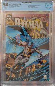 Batman #500 9.8 CBCS *KEY* 1st App of new Azrael-Batman costume Die-cut Foil CVR