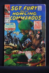 Sgt. Fury and his Howling Commandos, #46, They Also Serve!
