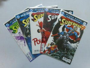 Superman (4th Series), 5 Different Set:#21-24, 8.0/VF (2017)