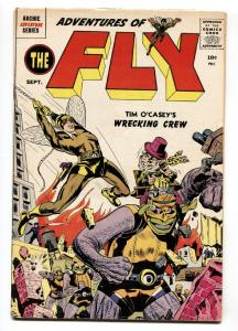 ADVENTURES OF THE FLY #2 comic book 1959 ARCHIE  SIMON & KIRBY ART VG