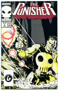 PUNISHER #2, NM, Mike Baron, Janson, 1987, guns, Blood, more in store