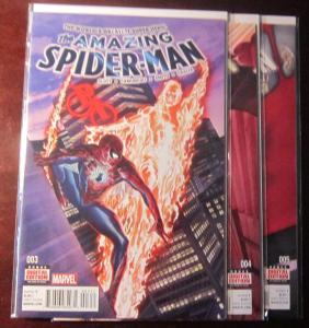 Amazing Spider-Man (2016 4th Series), SET:#3-5, VF