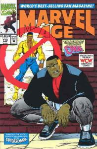 Marvel Age #110 FN; Marvel | save on shipping - details inside
