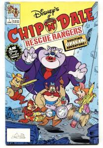 Chip 'N' Dale Rescue Rangers #1 1990-comic book VF/NM Disney