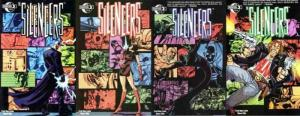 SILENCERS (2003 MOONSTONE) 1-4  COMPLETE!