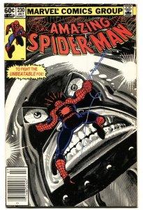 AMAZING SPIDER-MAN #230 comic book-1982-MARVEL Juggernaut NM-