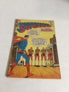 Superman 153 Gd Good 2.0 Tape Top Staple Detached DC Comics Silver Age