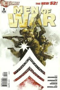 Men of War (2011 series) #3, NM- (Stock photo)