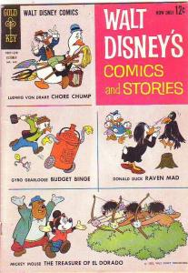 Comics and Stories, Walt Disney's #265 (Oct-62) GD/VG Affordable-Grade Donald...