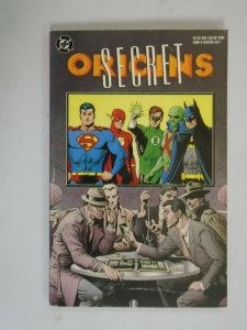 Secret Origins TPB SC 4.0 VG (1990 1st Printing)