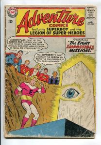 ADVENTURE COMICS #323 1964-SUPERBOY-LEGION OF SUPER HEROES- FR/GD
