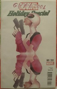 Gwenpool Holiday Special #001 NM Cover C Variant Robbi Rodriguez First Print