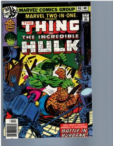 Marvel Two-in-One #46 (1978) FN/VF