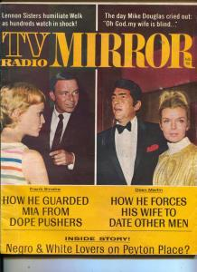 TV Radio Mirror-Dean Martin-Mia Farrow-Chet Atkins-Mike Douglas-Aug-1968