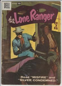 Lone Ranger, The #111 (Sep-57) FN/VF Mid-High-Grade The Lone Ranger, Tonto, S...