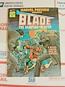 Marvel Preview #3 Blade The Vampire Slayer Solo Story First Appearance Of Afari